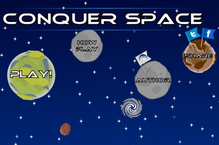 """Gra mobilna """"Conquer Space"""""""