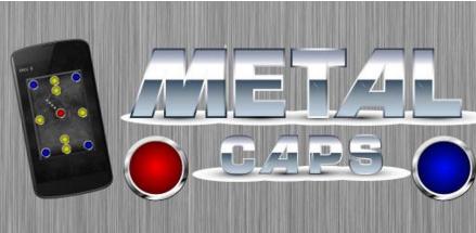 """Gra mobilna """"Metal Caps"""""""