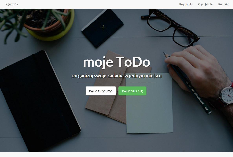 moje ToDo - organizuj swój czas!